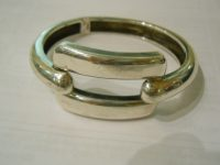 FRENCH silver bangle