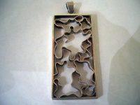 Silver pendant – probably Danish