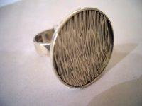 E. Grannit silver ring