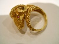 LALAOUNIS 18CT GOLD RING
