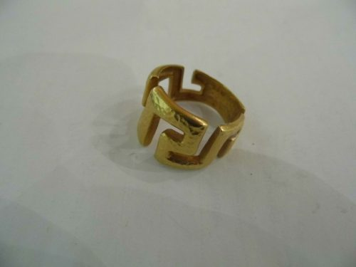 14ct gold ring marked 585 other makers marks