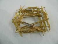 ANDREW GRIMA 18CT GOLD BROOCH WITH DIAMONDS 1968 1968 1968