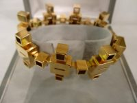 GOLD 18CT BRACELET BY TRUDEL,GENEVA,DESIGNED BY KURT APELI