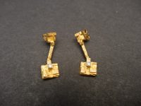 LAPPONIA 18ct,GOLD AND DIAMOND EARINGS