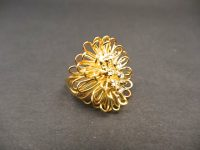 DAVID THOMAS 18ct GOLD DIAMOND RING 1972