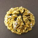 LARGE CHAUMET 18CT BROOCH/PENFDANT WITH DIAMONDS