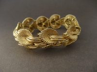 KUTCHINSKY 18ct GOLD BRACELET 1959
