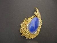 ANDREW GRIMA OPAL PENDANT/BROOCH,SIGNED