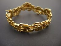 GILLIAN PACKARD 18ct GOLD BANGLE